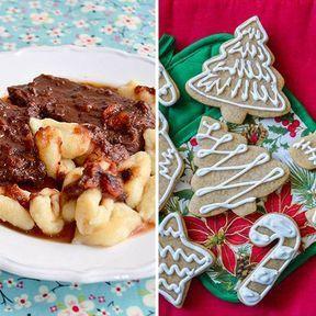 Repas de Noël en Croatie