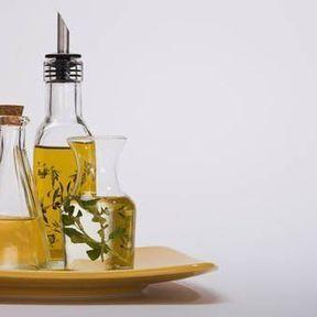 Vitamine E dans les légumes vert et les huiles végétales