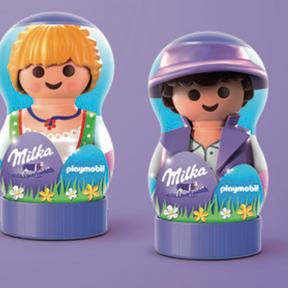 Les playmobils de pâques, Milka- Nouveauté 2019