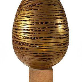 Oeuf fil d'or de Lenôtre
