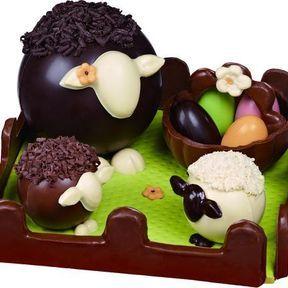 Pâques chez Edmond le mouton - Réauté Chocolat