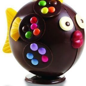 Poisson Tropique Jungle, Réauté Chocolat