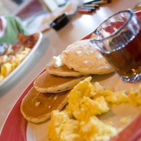Menu n°8 : petit déjeuner à l'américaine