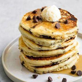 Pancakes vegan au chocolat
