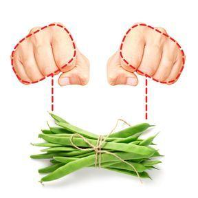 La bonne portion de légumes