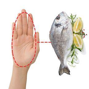 La bonne portion de poisson