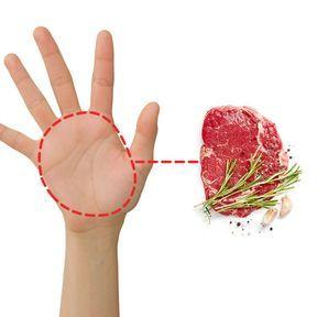 La bonne portion de viande
