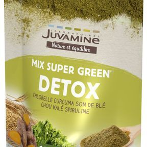 Mix Super Green Detox, Juvamine