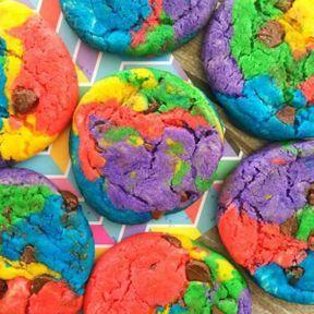 Les cookies colorés