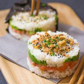 Le burger sushi