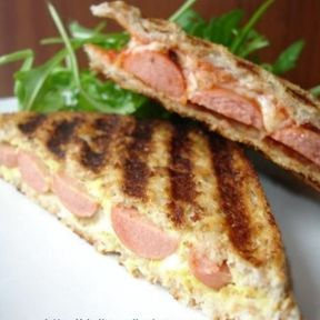 Croque-monsieur hot-dog