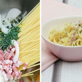 One pot pasta façon carbonara