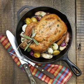 Le poulet rôti du dimanche
