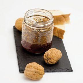 Marmelade de figues aux noix