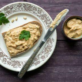 Houmous de beurre de cacahuète