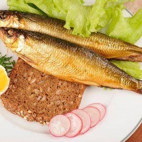 Le poisson dans l'assiette