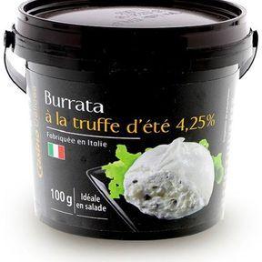 Burrata à la truffe, Casino Délices