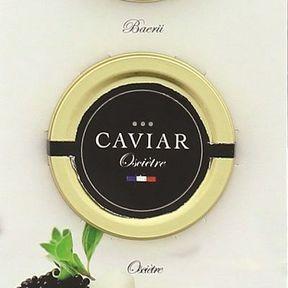 Coffret découverte 3 caviars Deluxe, Lidl