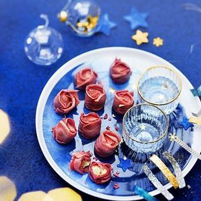Les 9 roses croustillantes, Thiriet