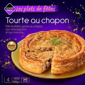 Tourte au chapon, Leader Price
