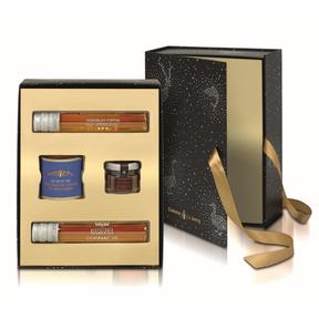 Coffret foie gras, chutney de figues, Cognac et Armagnac 2016, Comtesse du Barry