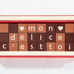 Alphabet en chocolat, Jadis & Gourmande