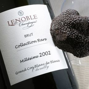 Ce soir, c'est champagne… et truffe !