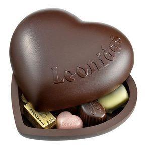 Coeur aux chocolats Leonidas
