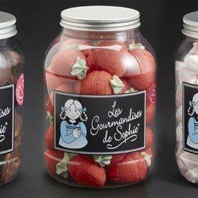 Coeur chocolat et guimauve - Les gourmandises de Sophie