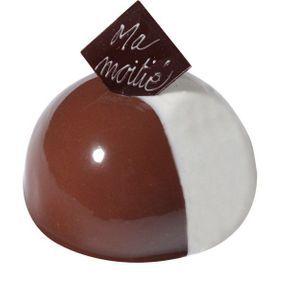 Ma Moitié, le dessert chocolat-vanille
