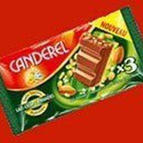 Barres de chocolat Canderel