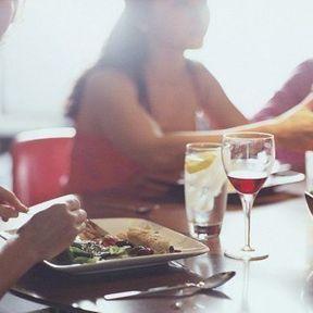 Limitez l'alcool pendant les repas