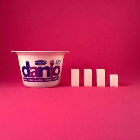 Le yaourt Danio