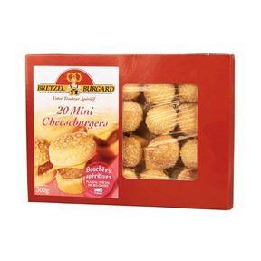 20 mini cheeseburgers - Bretzel Burgard
