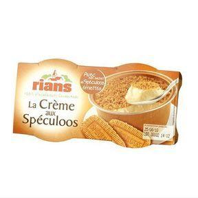Crème aux spéculoos - RIANS