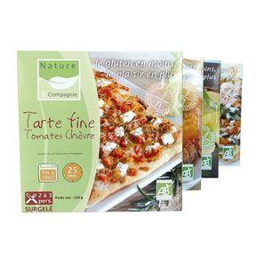 Gamme sans gluten (tarte fine et tarte tatin) - NATURE & CIE