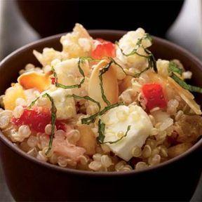 Quinoa fruité au Chabichou du Poitou