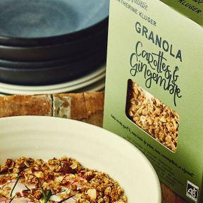 Granola Bio Carottes et Gingembre de Catherine Kluger