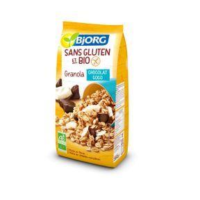 Granola Chocolat Coco Sans Gluten de Björg