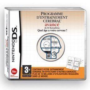 Programme d'entraînement cérébral avancé du Dr Kawashima pour Nintendo DS