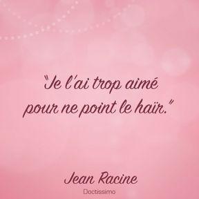 Citation de Jean Racine