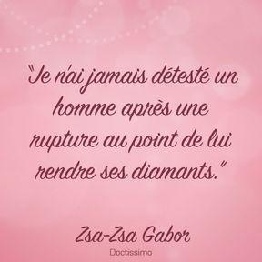 Citation de Zsa-Zsa Gabor