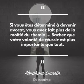 Citation d'Abraham Lincoln