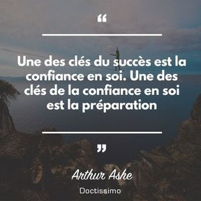 Citation d'Arthur Ashe