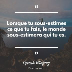 Citation d'Oprah Winfrey