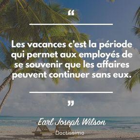 Citation d'Earl Joseph Wilson