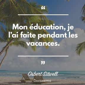 Citation d'Osbert Sitwell