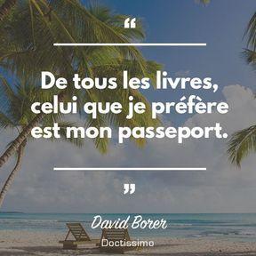 Citation de David Borer