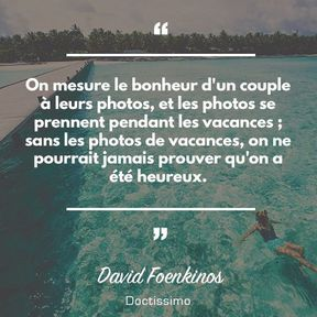 Citation de David Foenkinos