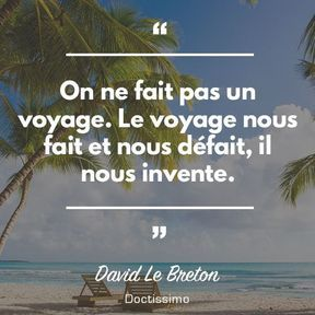 Citation de David Le Breton